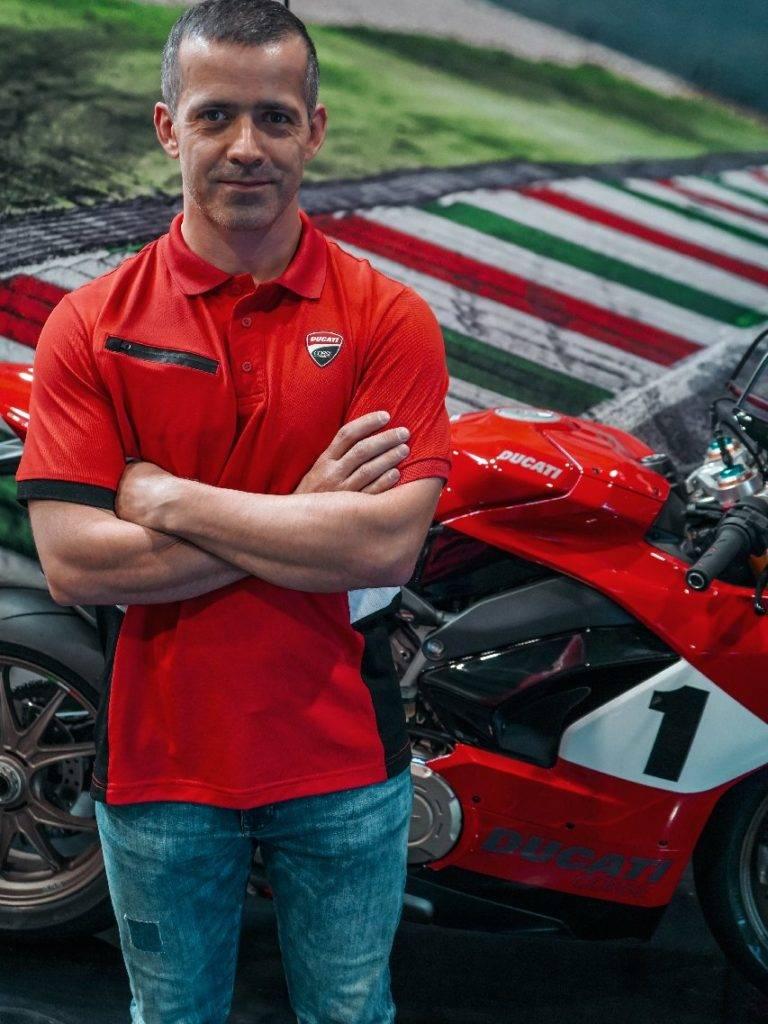 Alexandre équipe Ducati Lyon
