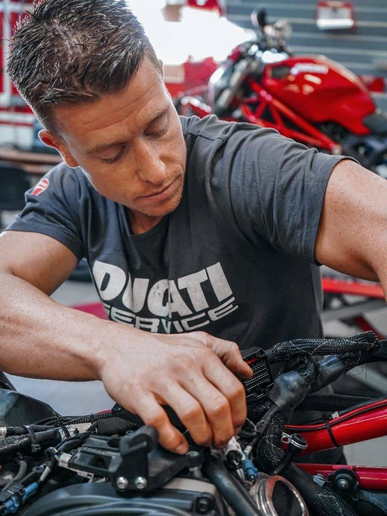 Denis équipe Ducati Lyon